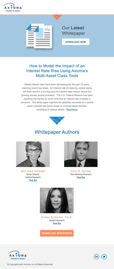 Whitepaper Email Template